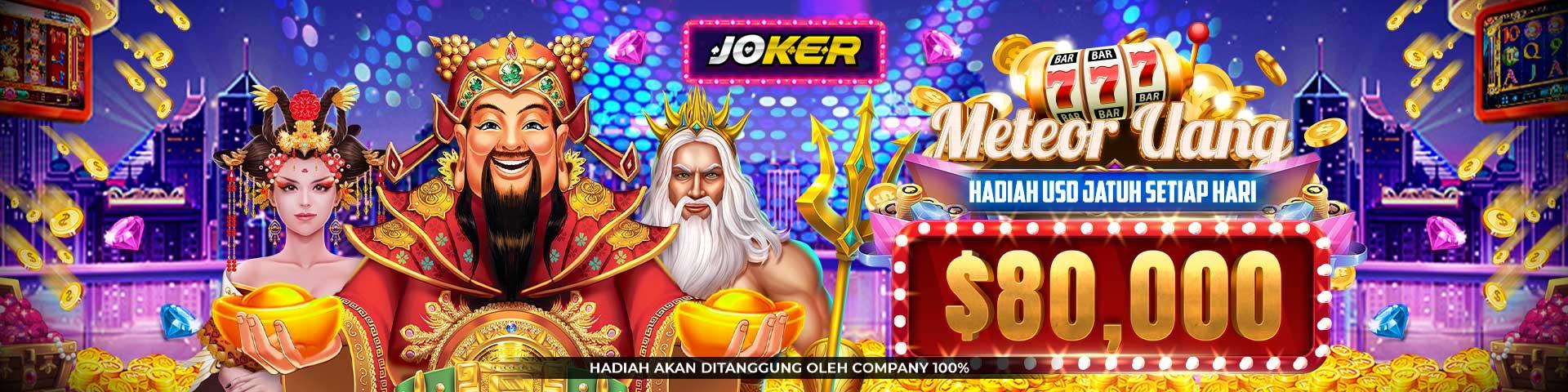 Judi Slot Online Joker123 memberikan Bonus Jackpot harian hingga ratusan juta rupiah setiap harinya